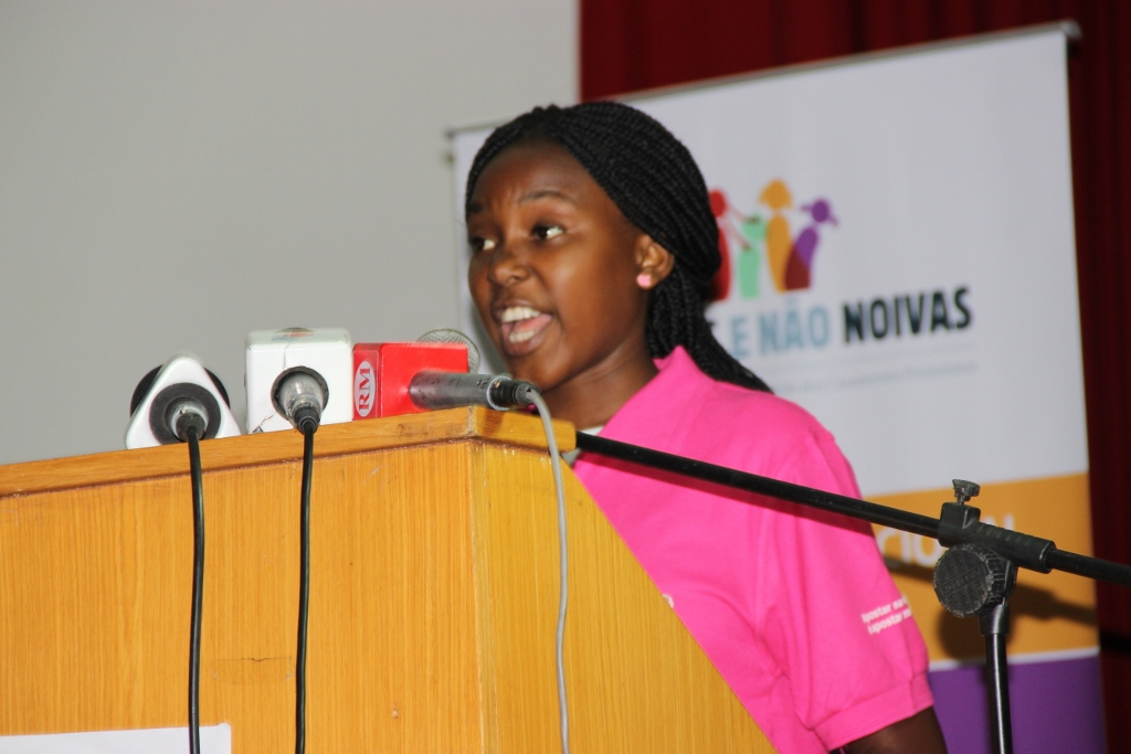 Girls Advocate to End Child Marriage