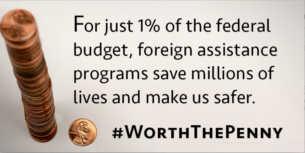 Foreign Assistance: #WorthThePenny