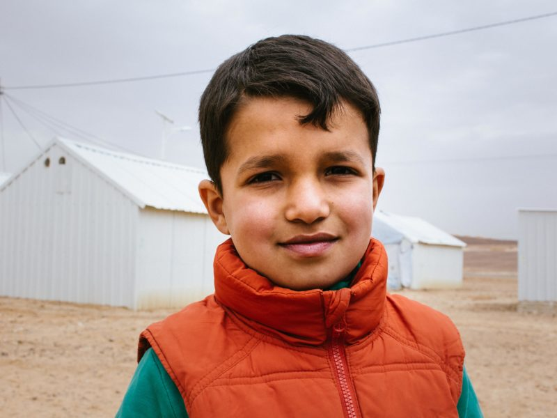 A day at one of the largest camps for Syrian refugees