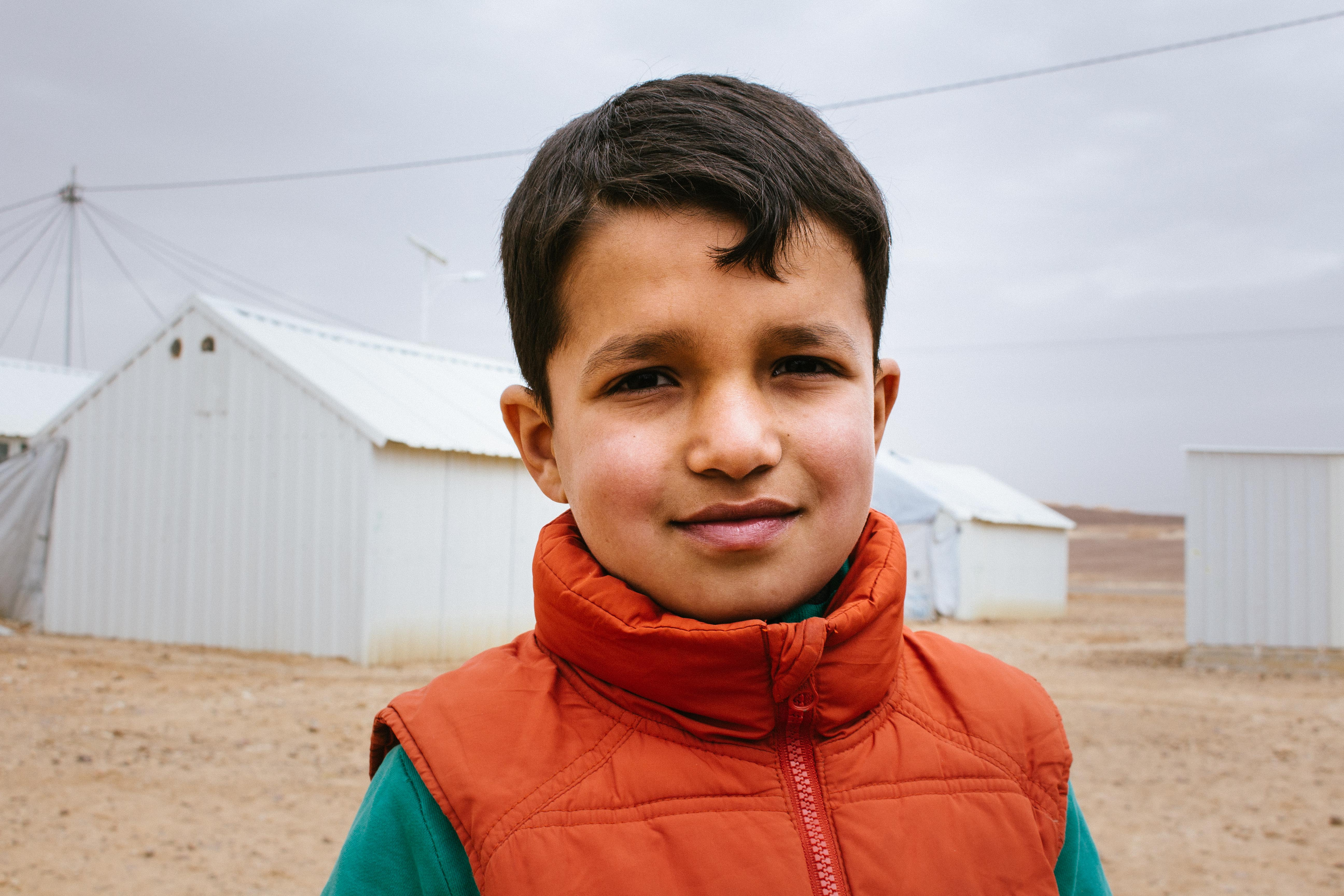 What is life like for a Syrian refugee child?