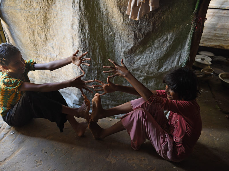 A 12-year-old Rohingya girl describes fleeing with her family