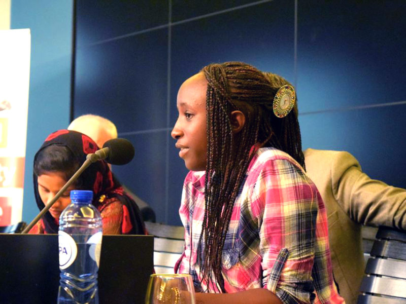 Young leader in Senegal: 'Stand with us. Help us ensure our protection'