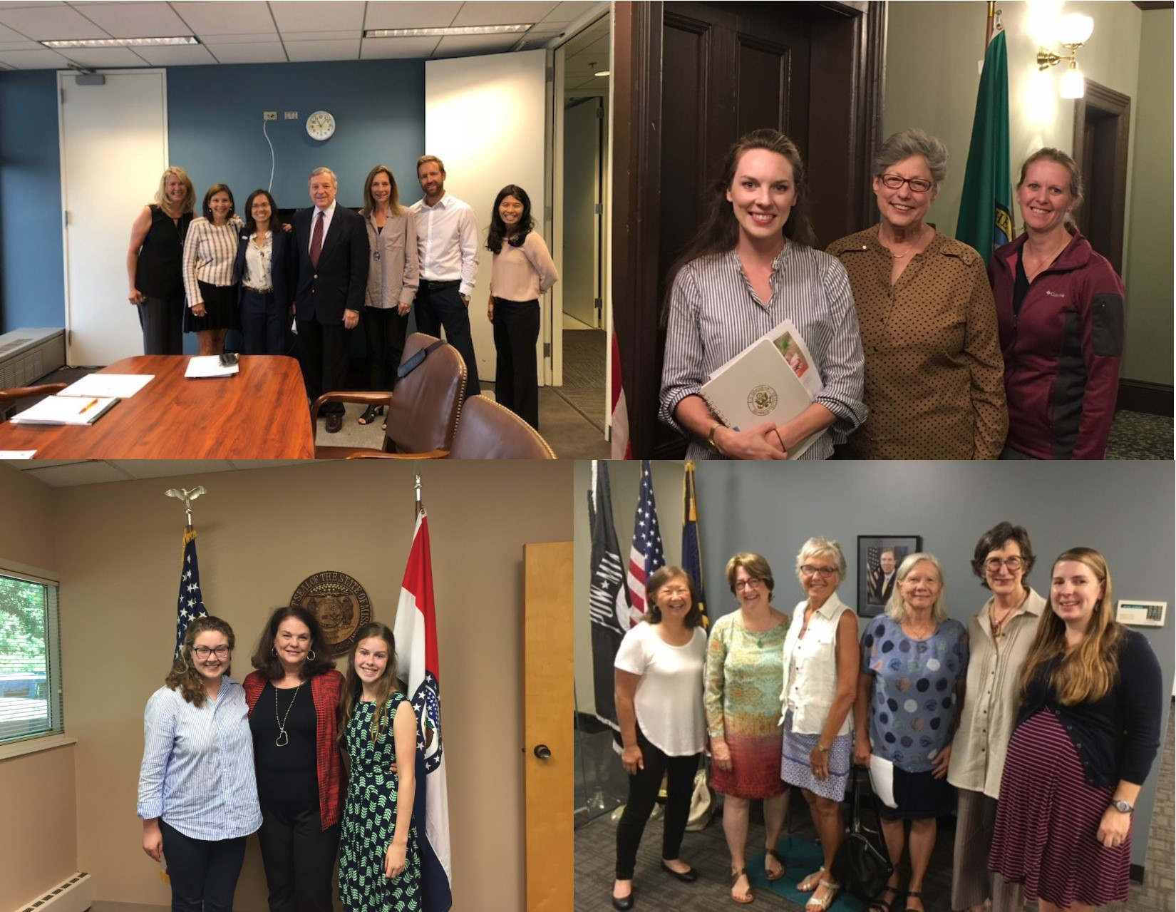 Advocate accomplishments for Summer 2018: Meetings, calls, and more!