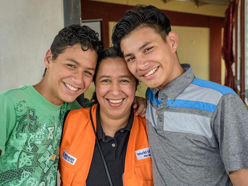 This program helps Honduras teens stop violence in their neighborhoods
