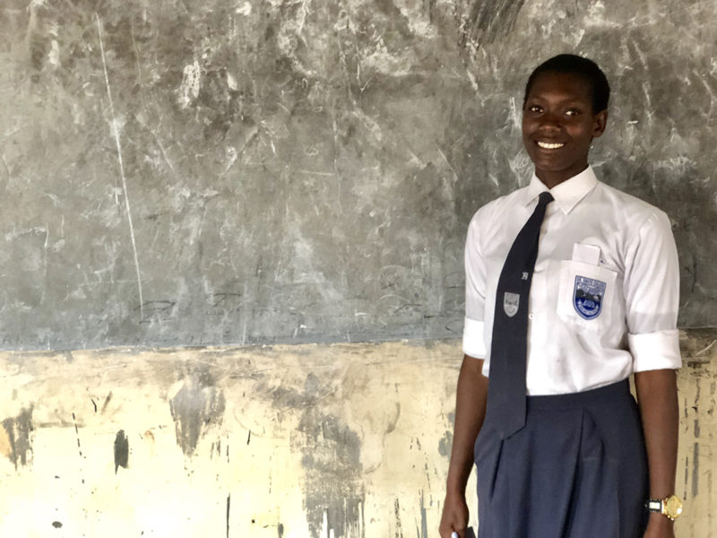 Together, empowered girls pave the way for girls' education