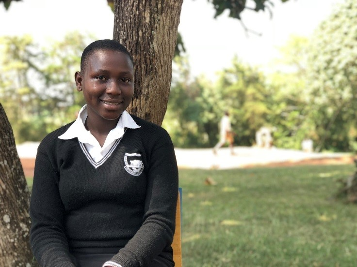 "Veronica's story: ""DREAMS empowered me to stay in school"""